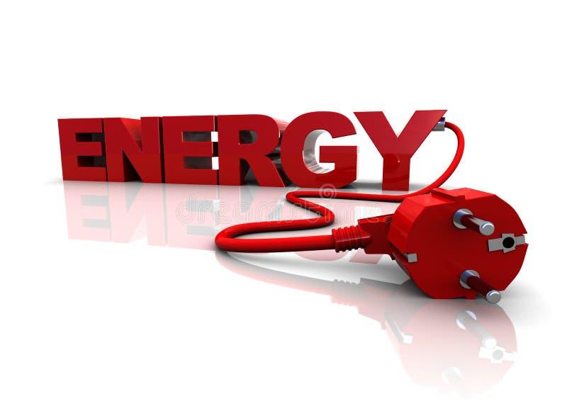 Energie royalty-vrije illustratie