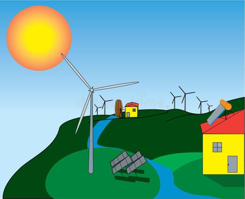 Energie illustration de vecteur
