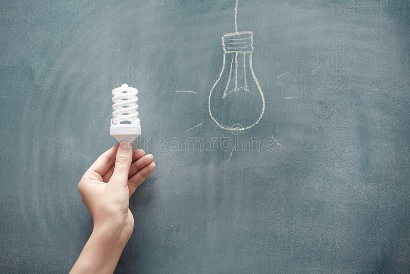 Energie - besparing stock fotografie