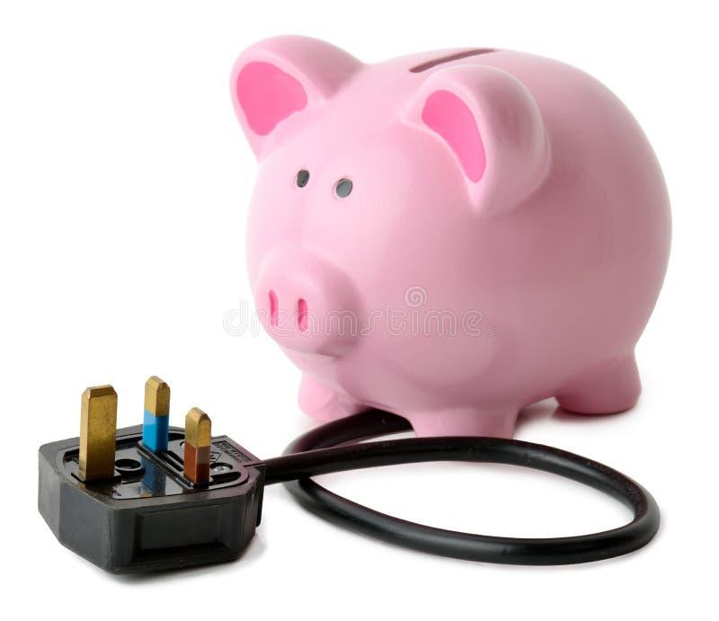 Energie - besparingen royalty-vrije stock foto's
