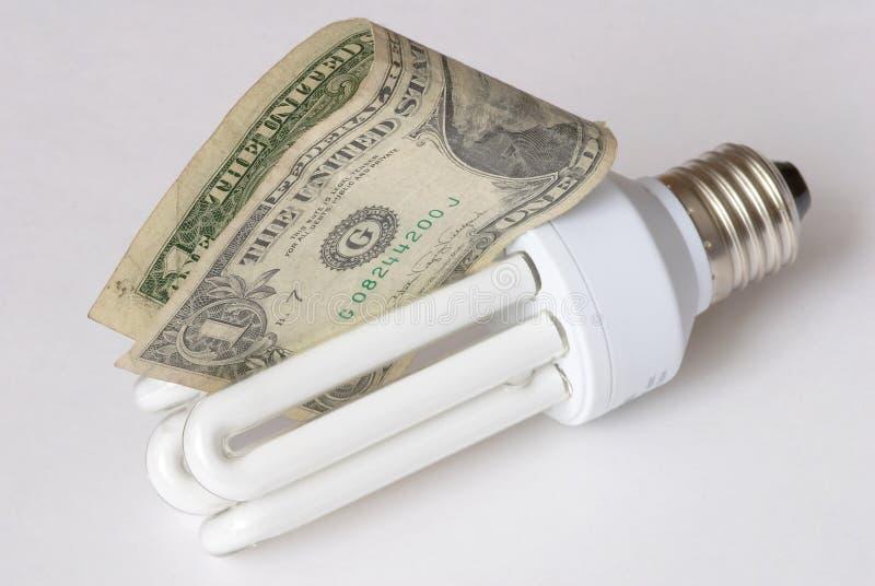 Energie - besparingsbol stock fotografie