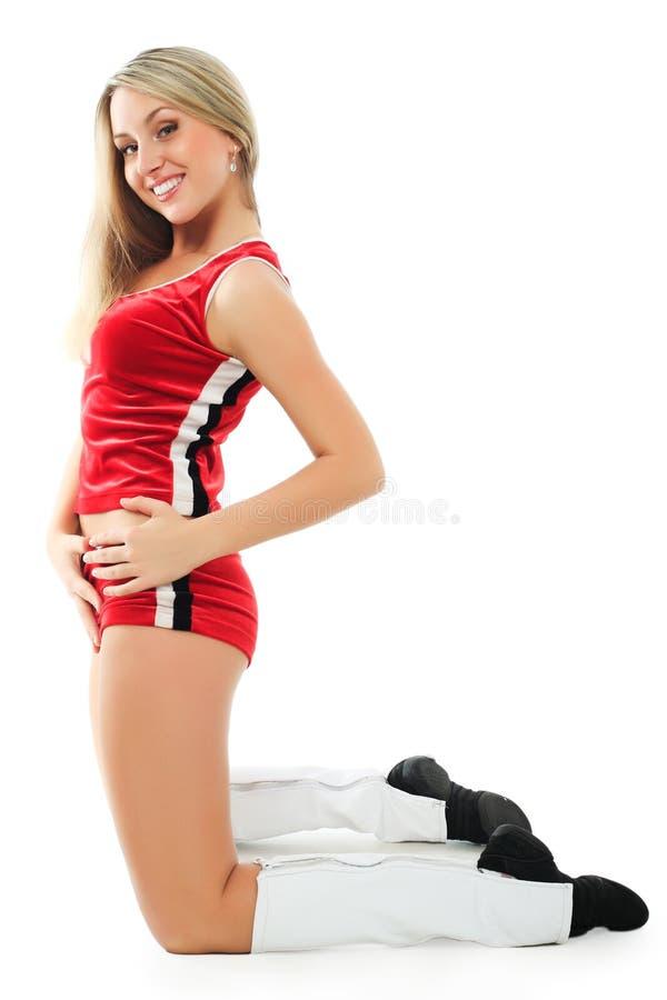 Energie cheerleader stock fotografie