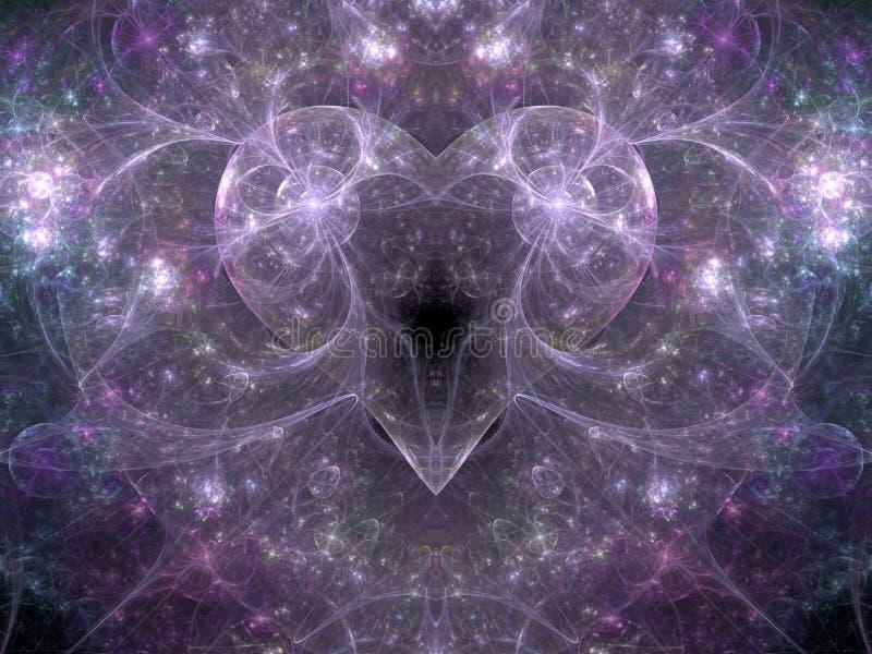 Energie der Liebe lizenzfreie abbildung