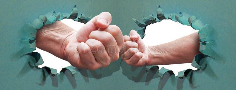 Energie in der Wettbewerbsfaust-GeschäftserfolgZukunft mächtig stockfotos