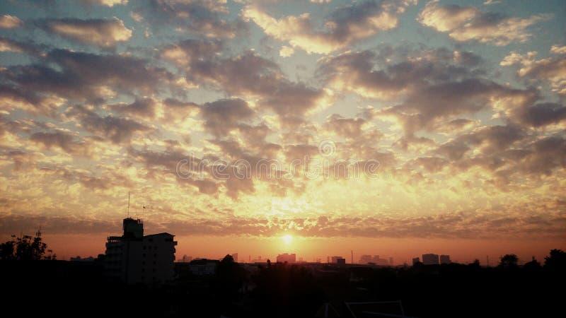 Energie der Wolke stockbilder
