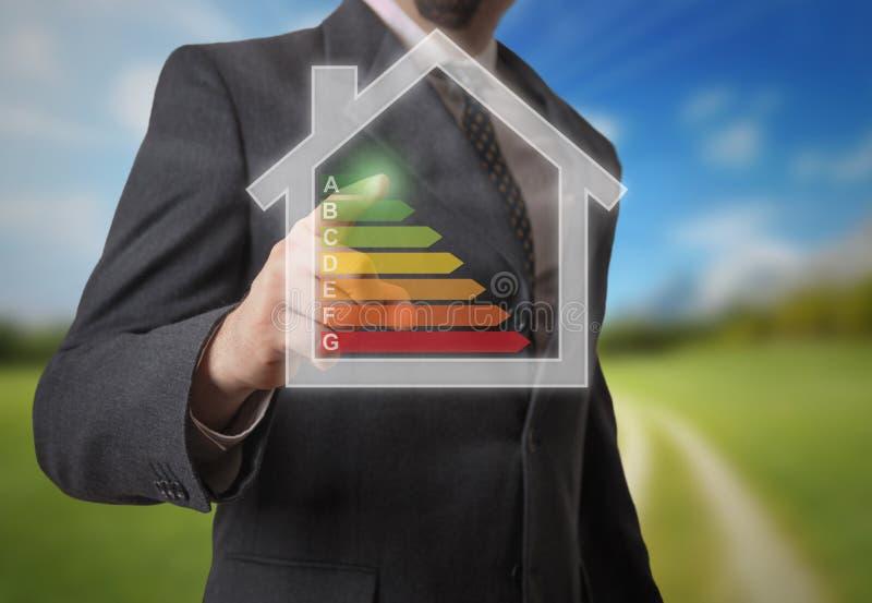 Energie efficency stockfotografie