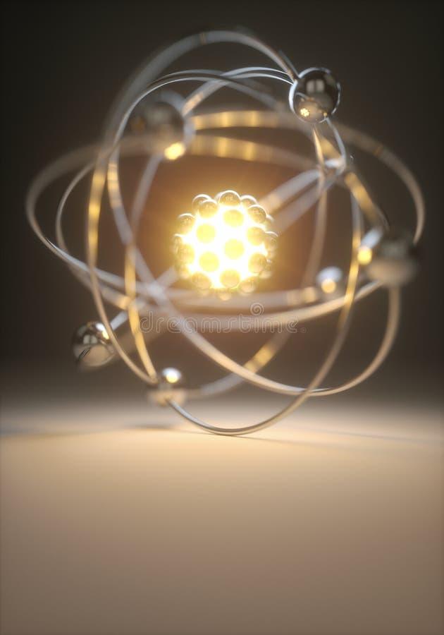 Energie-Energie-Fusion lizenzfreie abbildung