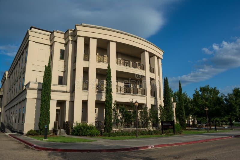 Energie, Küste und Umwelt-Gebäude an LSU lizenzfreies stockbild