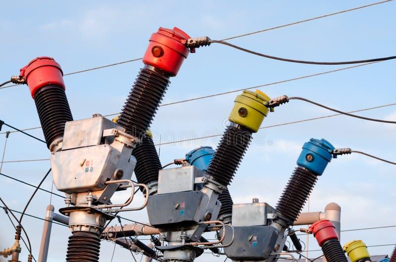 Energie-u. Energiewirtschafts-Ausrüstung stockbilder