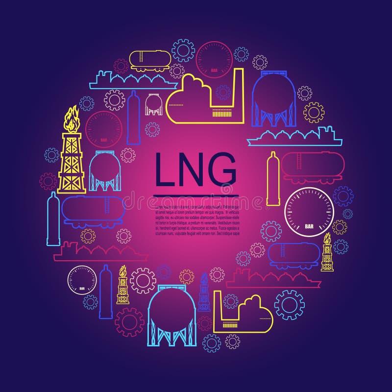 Energie- und Leistungikonen lizenzfreie abbildung