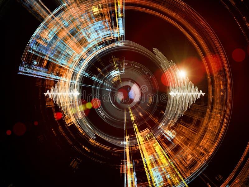 Energie von Digital-Vision lizenzfreie abbildung