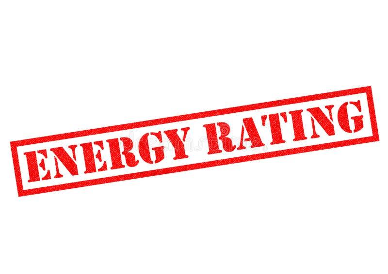 Energiebewertung lizenzfreie abbildung