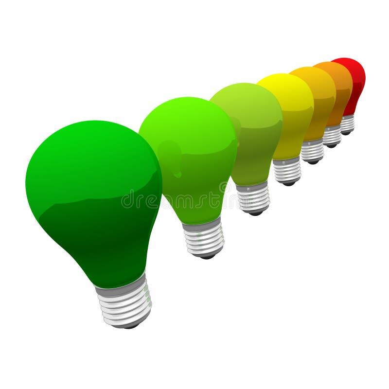 Energieeffizienzkonzept vektor abbildung