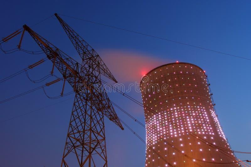 Energieerzeugung stockfoto