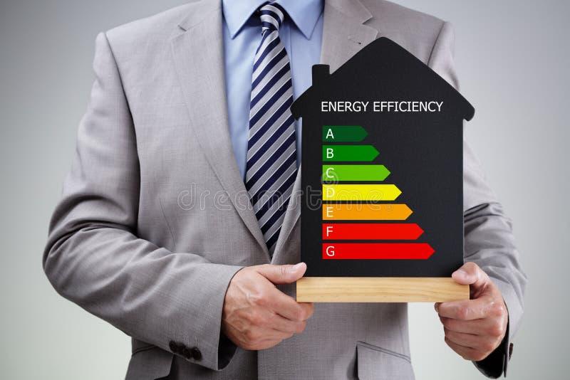 Energieffektivitet i hemmet royaltyfria foton