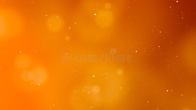 Energiek Oranje Abstract Licht Element Als achtergrond royalty-vrije stock afbeeldingen