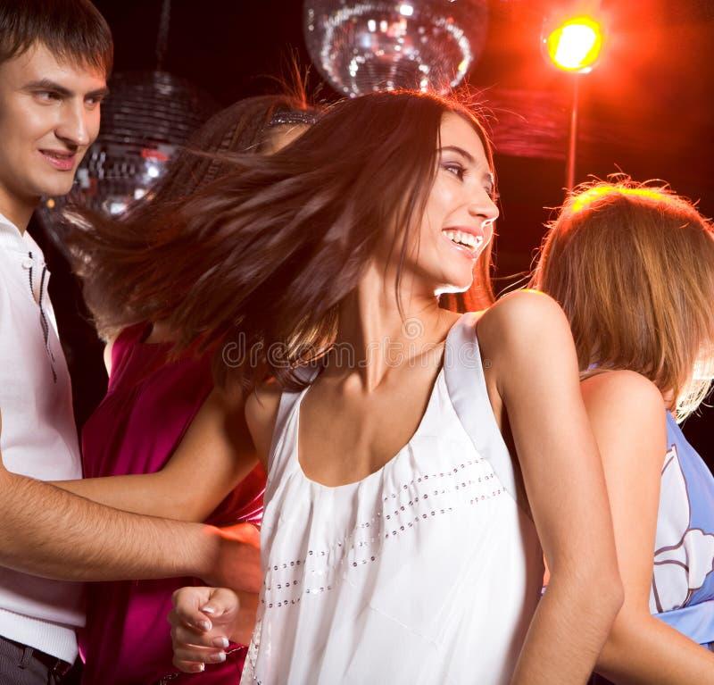 Energieke dans stock afbeeldingen