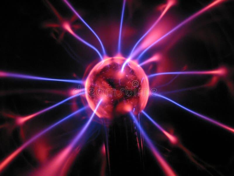 Energiekugel stock abbildung