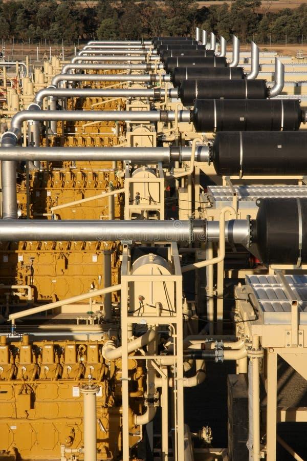 Energiesector stock afbeelding