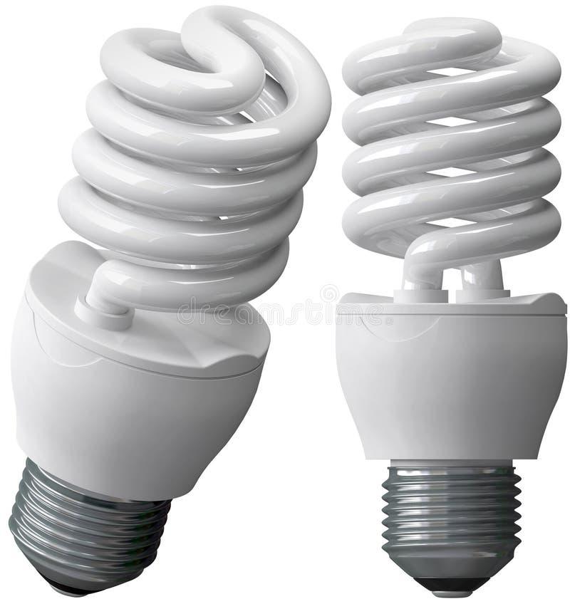 Energiesparende Fühler stock abbildung