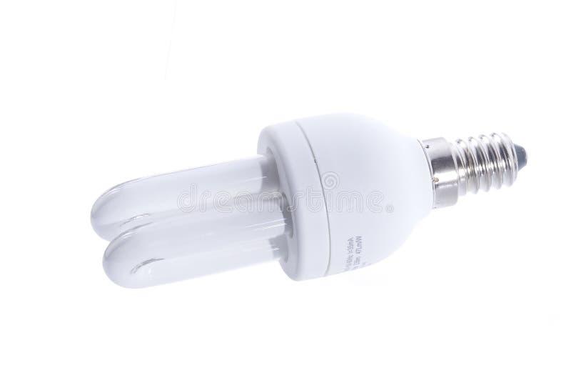 Energiesparende Glühlampe lizenzfreies stockfoto