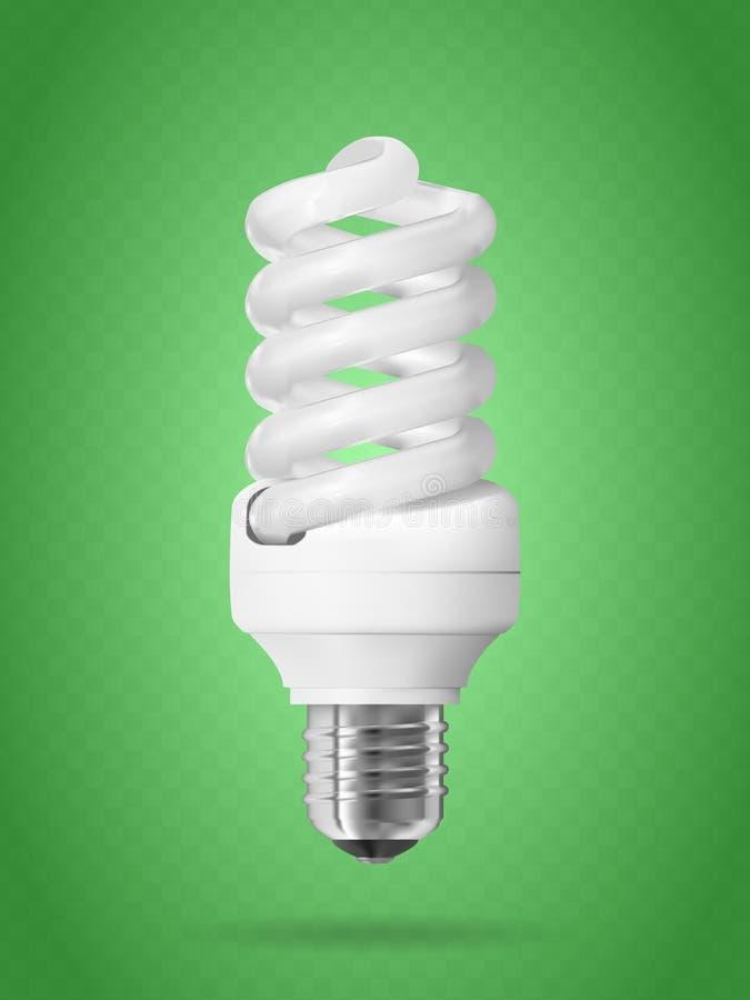 Energiesparende Glühlampe vektor abbildung