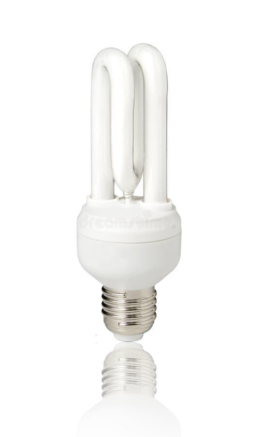 Energiesparende Glühlampe stockbilder