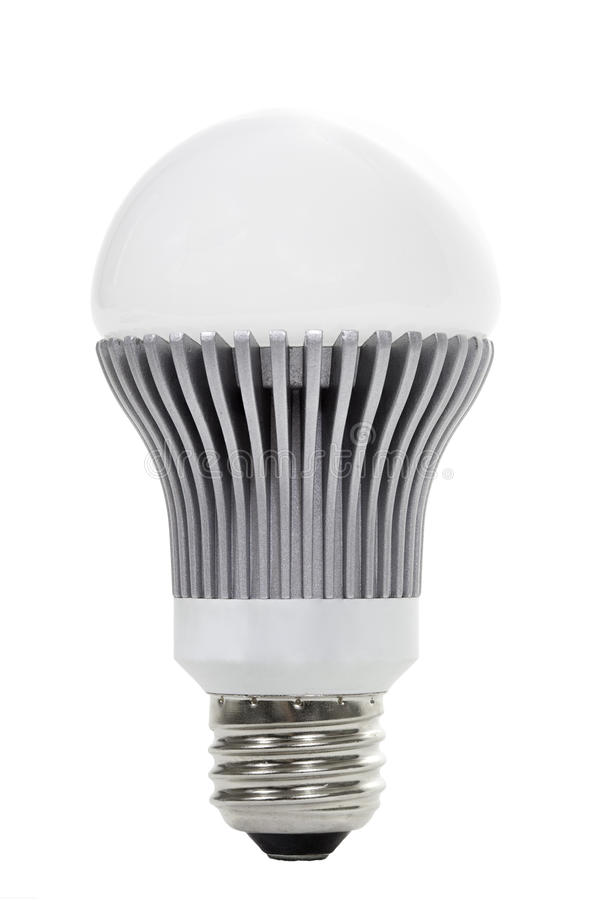 Energiesparender Neu-Alter LED Fühler stockbilder