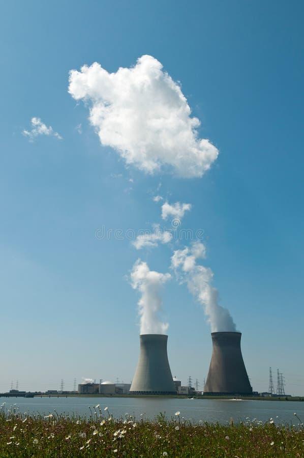 Energiestation lizenzfreie stockfotografie