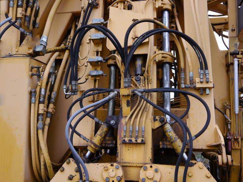Energietechnologie Kabelfachleute der elektrischen Drähte und des Kabels lizenzfreie stockbilder