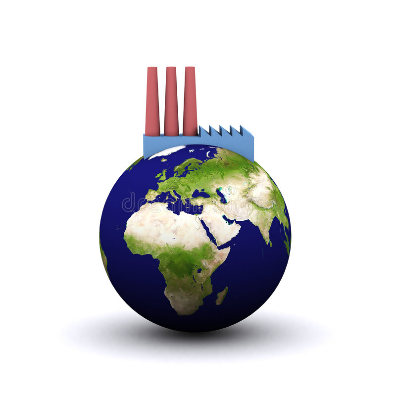 Energieverbrauch (Europa) stock abbildung