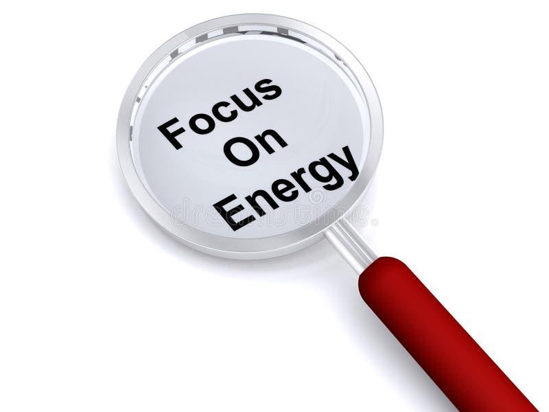 energifokus stock illustrationer