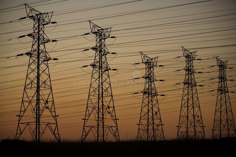 energii elektrycznej zdjęcie stock