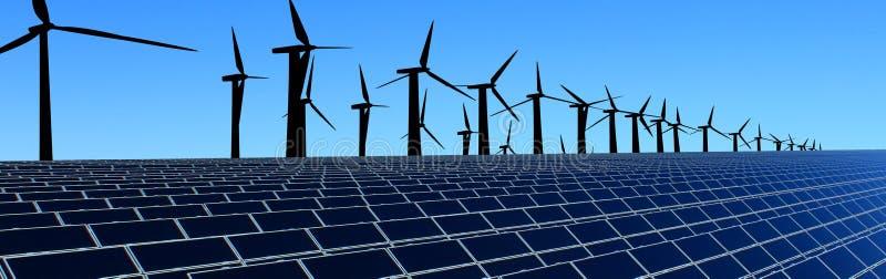 Energii pole zdjęcie royalty free
