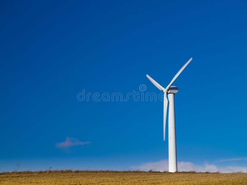 energii zielony źródła turbina wiatr fotografia stock