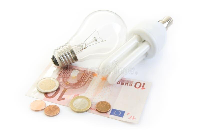 energilampsparande arkivbild
