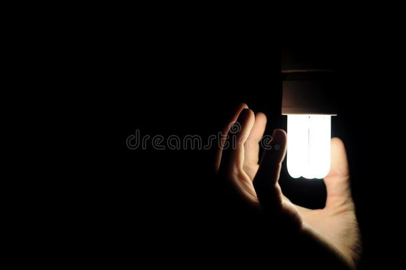 energilampsparande arkivbilder