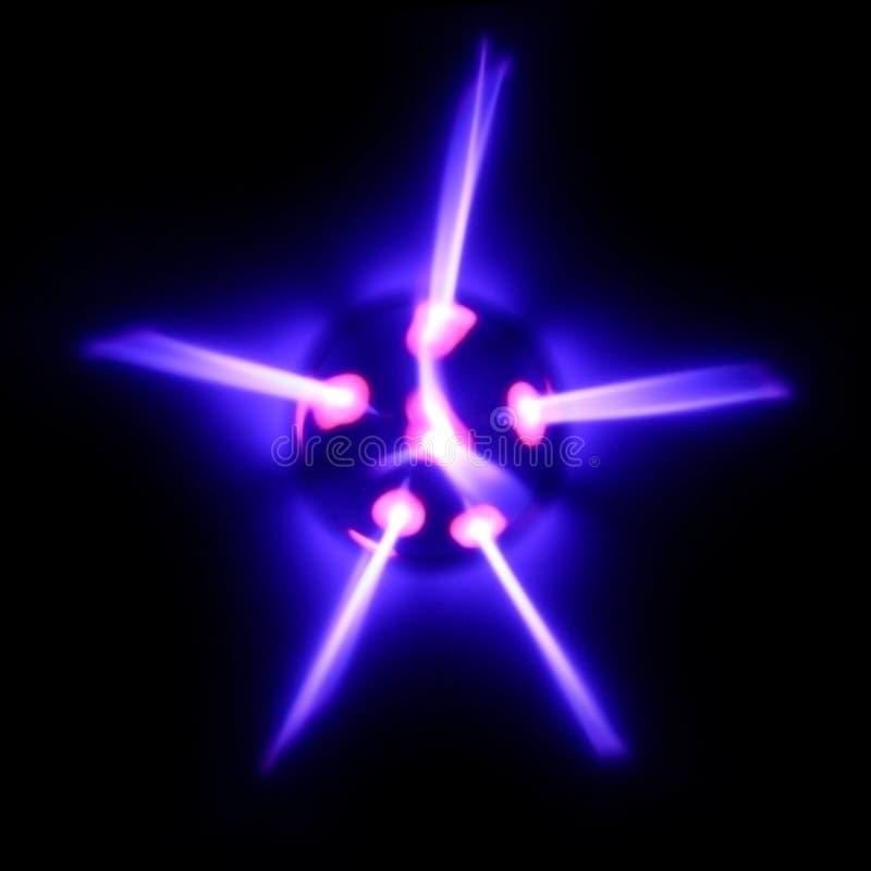 energistjärna royaltyfri illustrationer