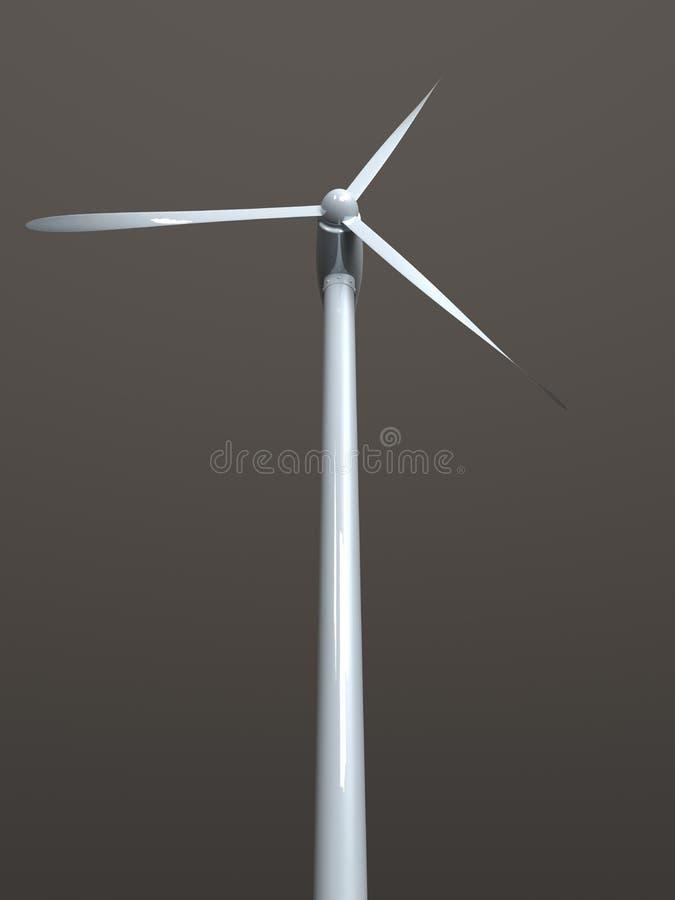 energiwind royaltyfri illustrationer