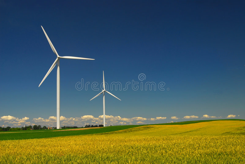 energiwind royaltyfri fotografi