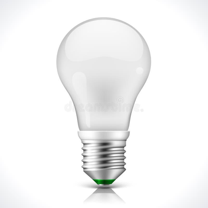 Energooszczędna lampa ilustracja wektor
