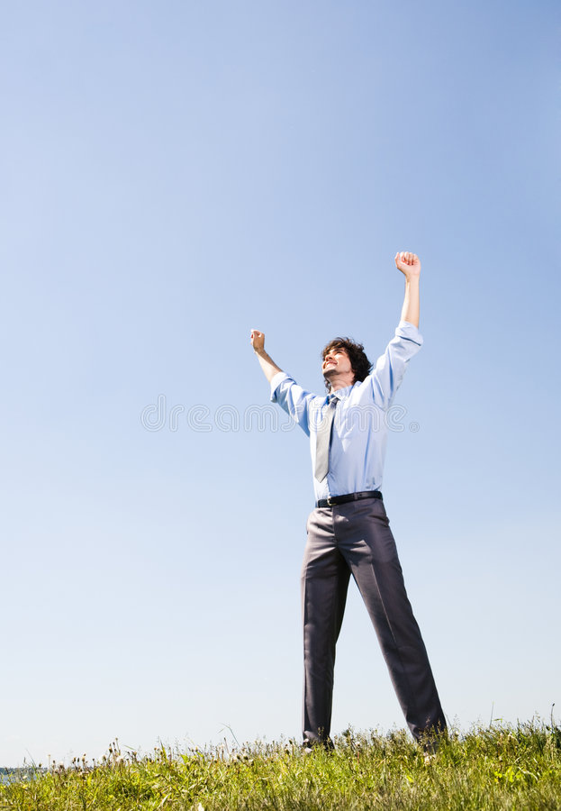 Download Energy stock photo. Image of leader, blue, heaven, lift - 5669088