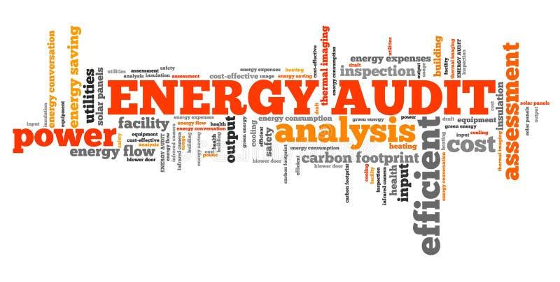 Energy audit vector illustration