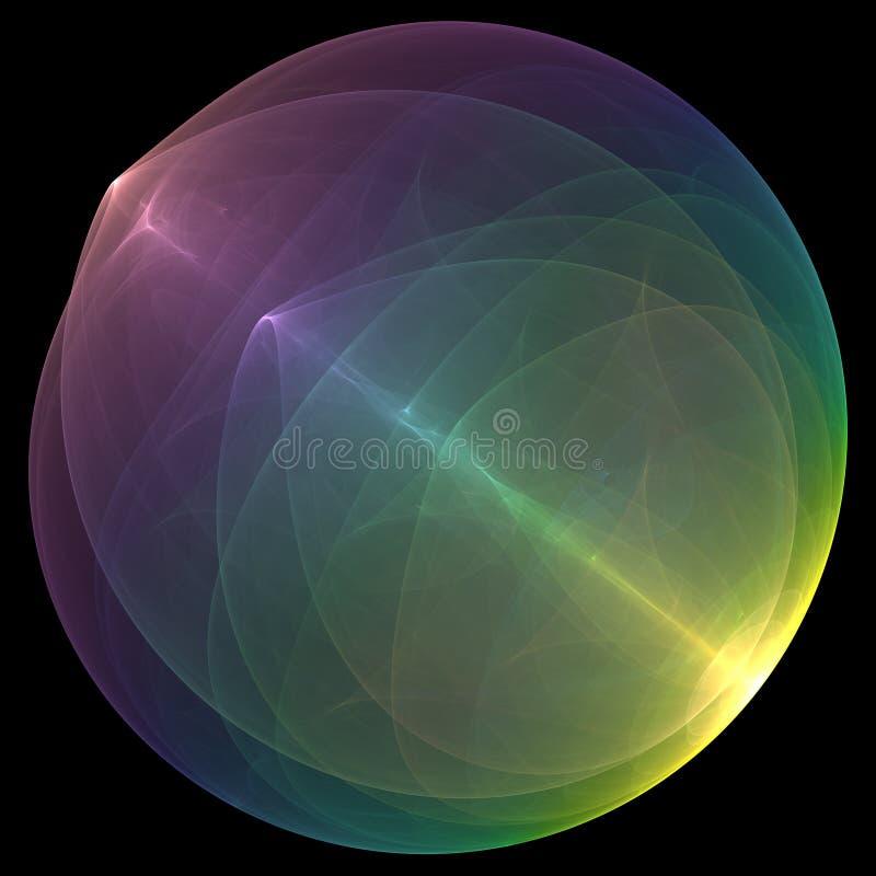 Energy ball vector illustration