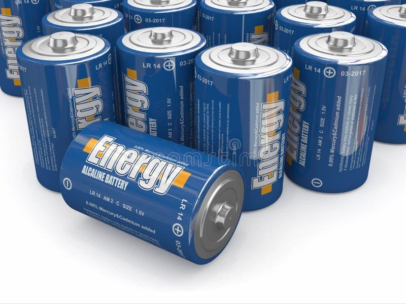 Download Energy batteries stock illustration. Image of generation - 27351926