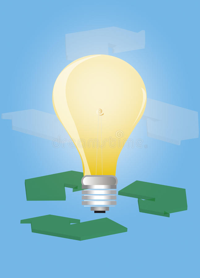 Download Energy concept stock illustration. Image of brightness - 12724066