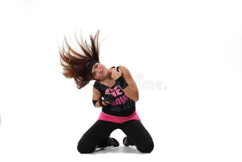 Energy dance stock image