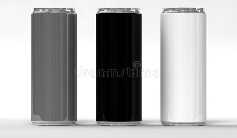 Download Energy drink cans stock illustration. Illustration of color - 26307228
