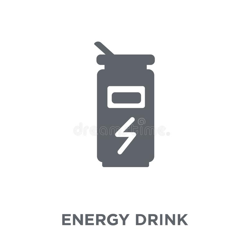 Energy drink icon from Drinks collection. royalty free illustration
