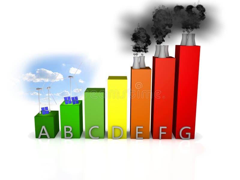 Energy efficiency vector illustration